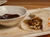 Vegetarian Moo Shoo in Pancake