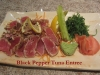 Seared Black Pepper Tuna Entree