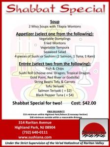 Shabbat Special